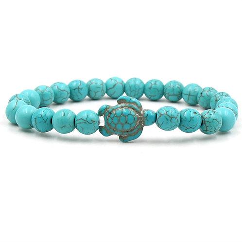 Bead Bracelets&bangle Natural Turquoises Buddha Energy Volcanic Stone Bracelets