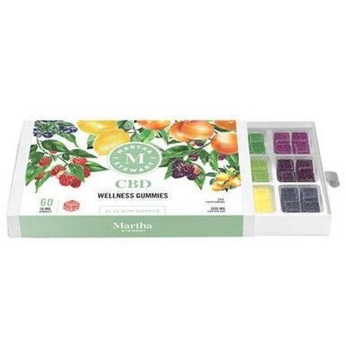 Martha Stewart - CBD Edible - Wellness Gummies Sampler Pack - 10mg