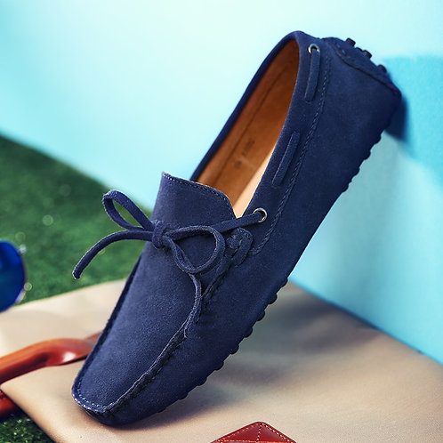 Fashion Men Shoes Genuine Leather Casual Shoes Classic Mens Loafers Elegantes