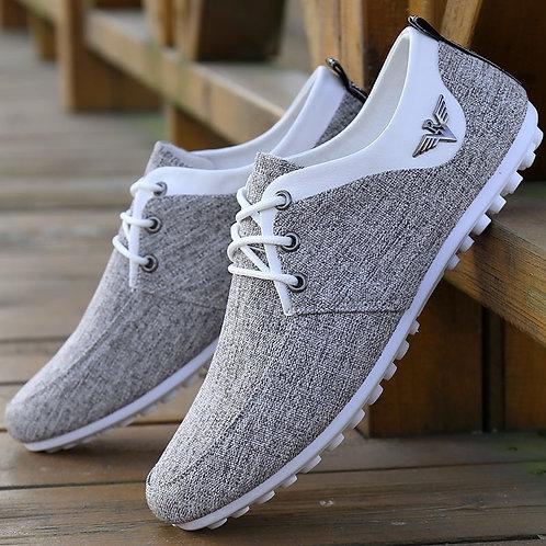 Casual Shoes Mens Canvas Fashion Flats Brand Fashion Zapatos