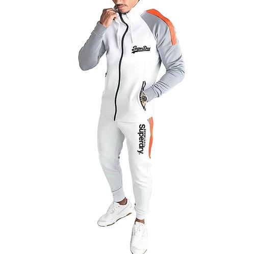 Two-Piece Men's Sports Running Wear Men's Fitness Jogging Casual Wear 2021