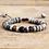Thumbnail: Natural Jaspers Stone Macrame Bracelets Couples Lovers Beads Bracelet