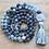 Thumbnail: Natural Labradorite 108 Mala Bead, Meditation Mala Hand Knotted Prayer Necklace