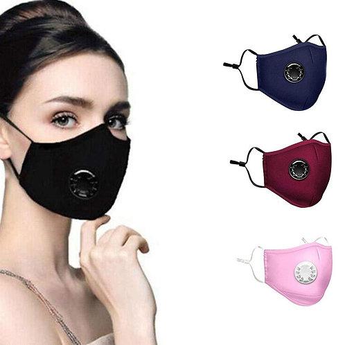 Mouth Mask Washable Reusable Masks Cotton Unisex Mouth Activated Carbon Mask
