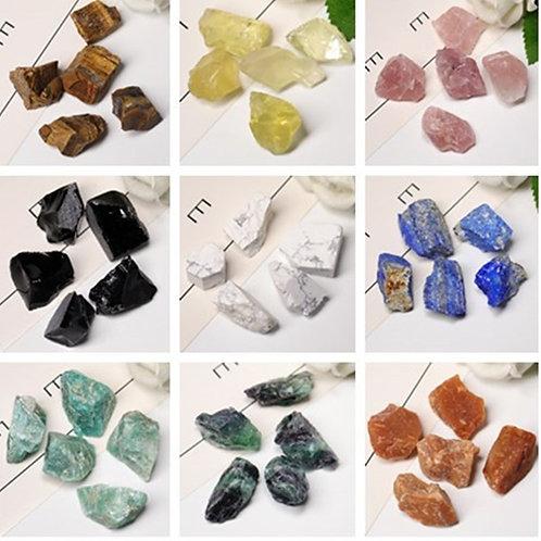 Natural Crystal Coarse Mineral, Rose Crystal, Rough Rock, Reiki Healing Stone