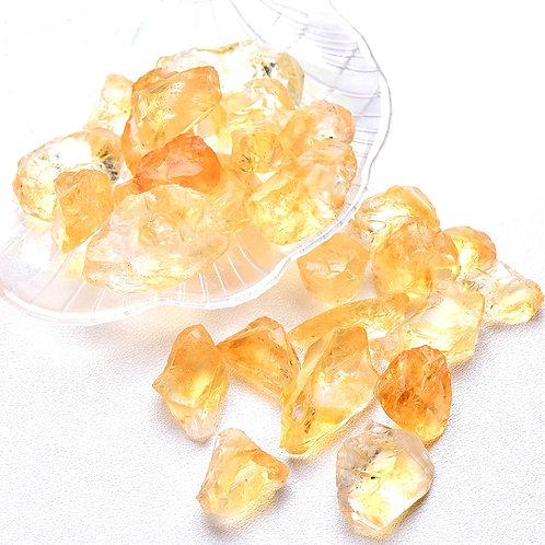 20/50g Natural Raw Yellow Citrine Quartz  Rough Stone Specimen Healing  Love