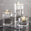 Thumbnail: Nordic Crystal Candle Holder Centerpieces Glass Candles Home Decor Geometric