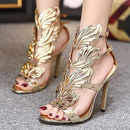 Gold Sexy High Heels Women Pumps Ladies Heels Sandals Classic Pumps Stiletto
