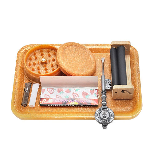 Eco-Friendly Biodegradable Hemp Tobacco Rolling Tray Herb Hand Roller Tray