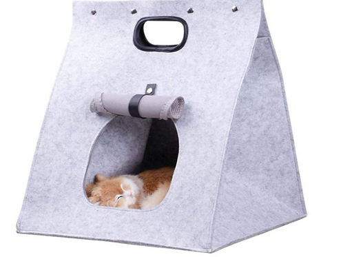 Amazon Top Seller Dog Pet House Cat Home Foldable House Felt