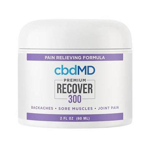cbdMD - CBD Topical - Recover Inflammation Cream - 300mg-1500mg