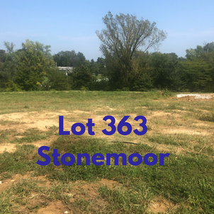 Large, private walk out lot in the second entrance of Stonemoor in the cul de sac.