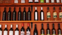 Široká nabídka vín z Čech a Itálie
