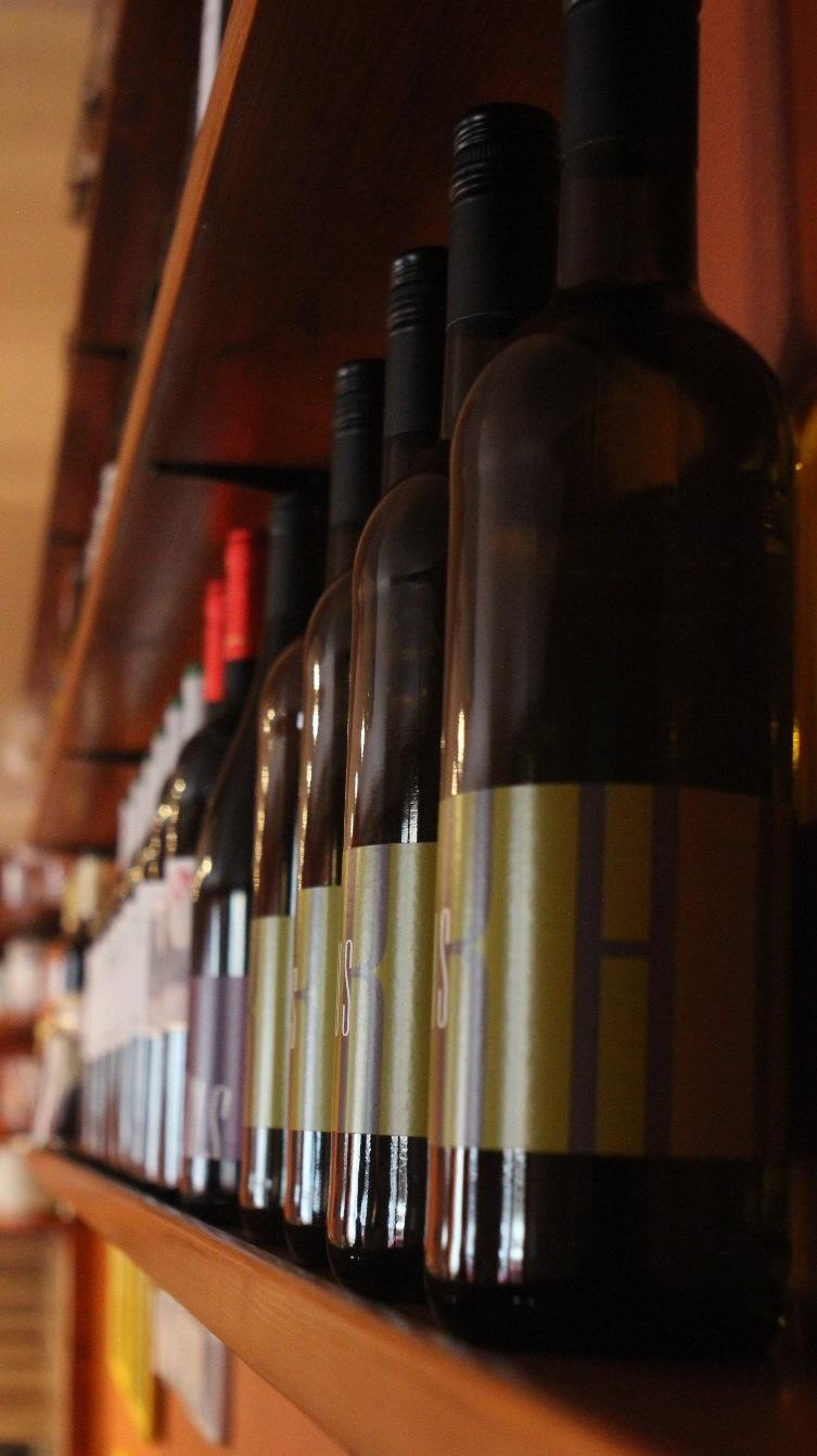 Víno z Čech a itálie