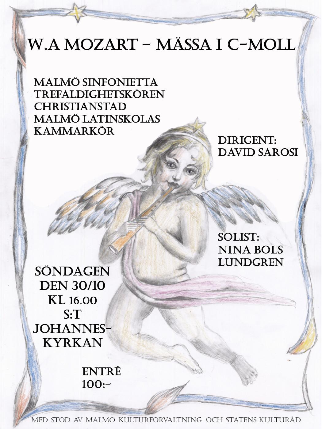 Affisch Mozart 301016