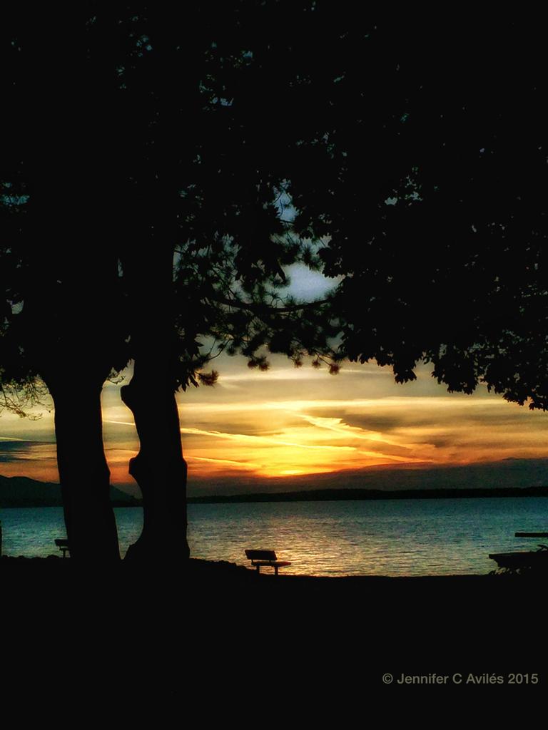 Sunset Bellingham Bay