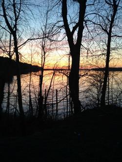 Sunrise on the Columbia River