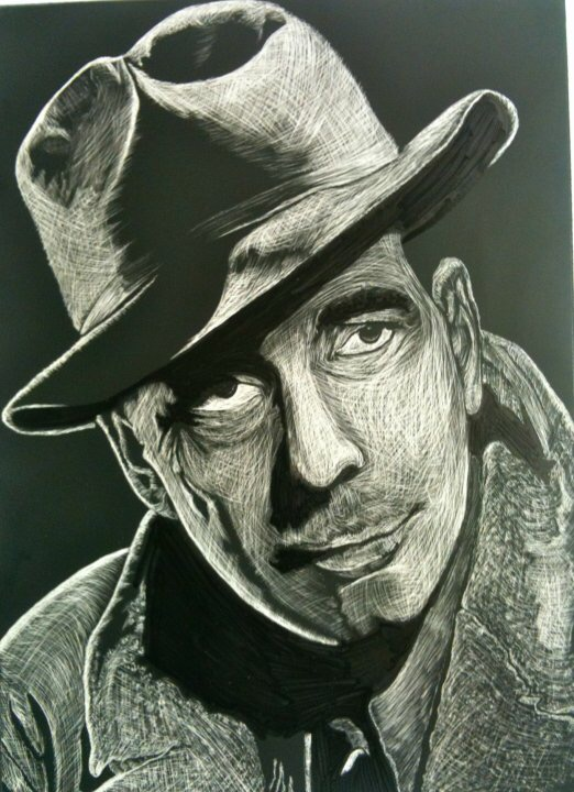 Humphrey Bogart in Casa Blanca
