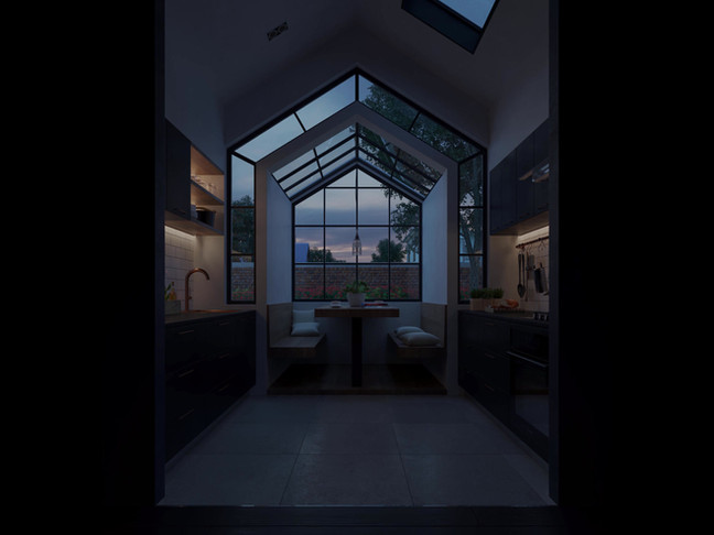 Flickering Light - Kitchen