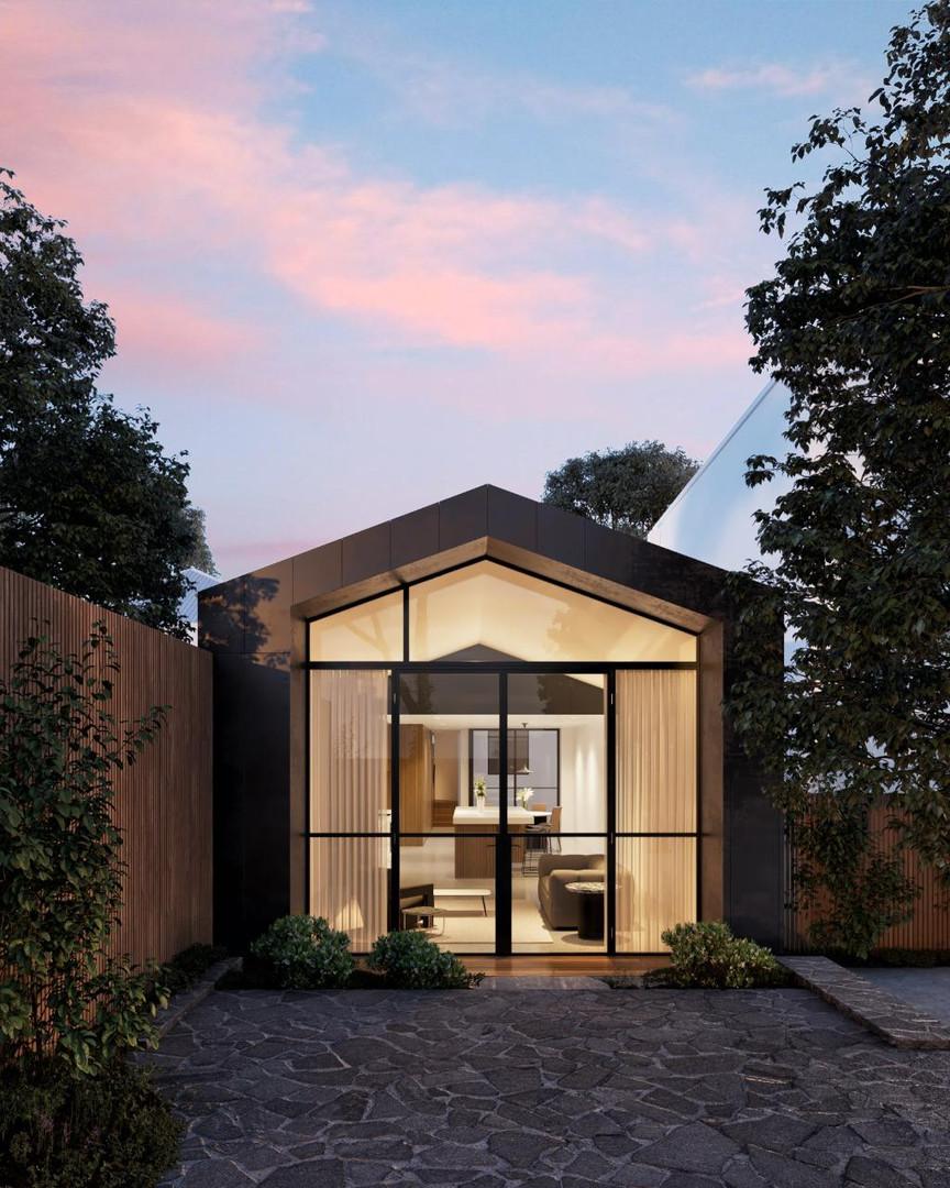 Port Melbourne House by Pandolfini Architects