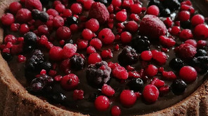 Crostata morbida di frutti di bosco senza glutine