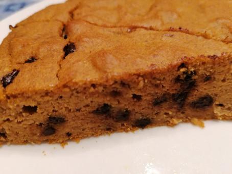 Torta di zucca e nocciole senza zucchero e senza glutine