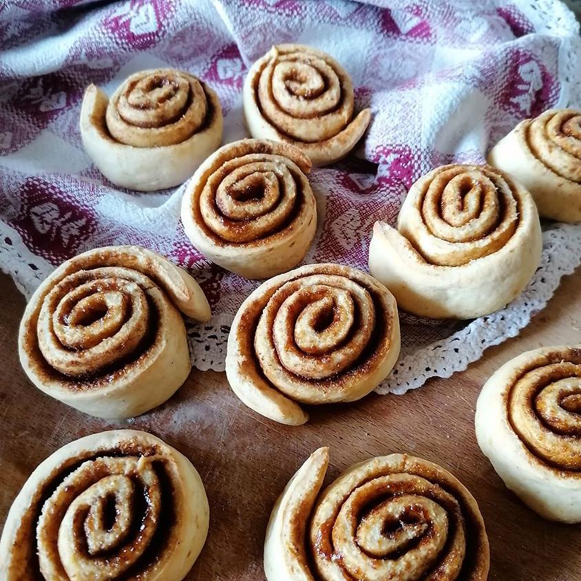 28/11 - Cinnamon rolls - girelle alla cannella