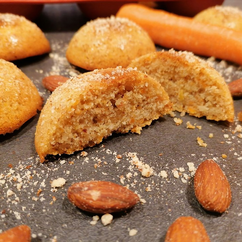 10/07 - Tortine Camille di carote e mandorle