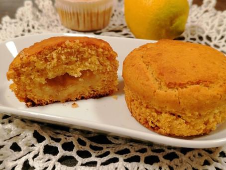 Tortine al limone e mandorle senza zucchero