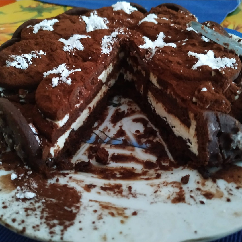 27/06 - Torta Pan di Stelle