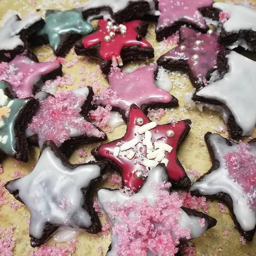 20/12 - Biscotti di Natale decorati