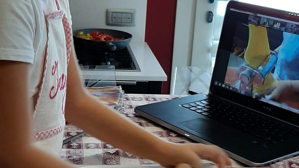 6+1 Lezioni di cucina per bambini online (1 lezione bonus con i cuoca-punti)