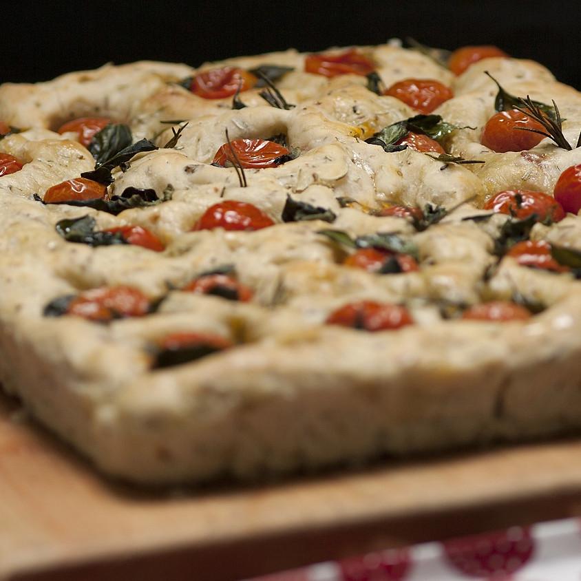 25/03 - Focaccia pomodorini e olive