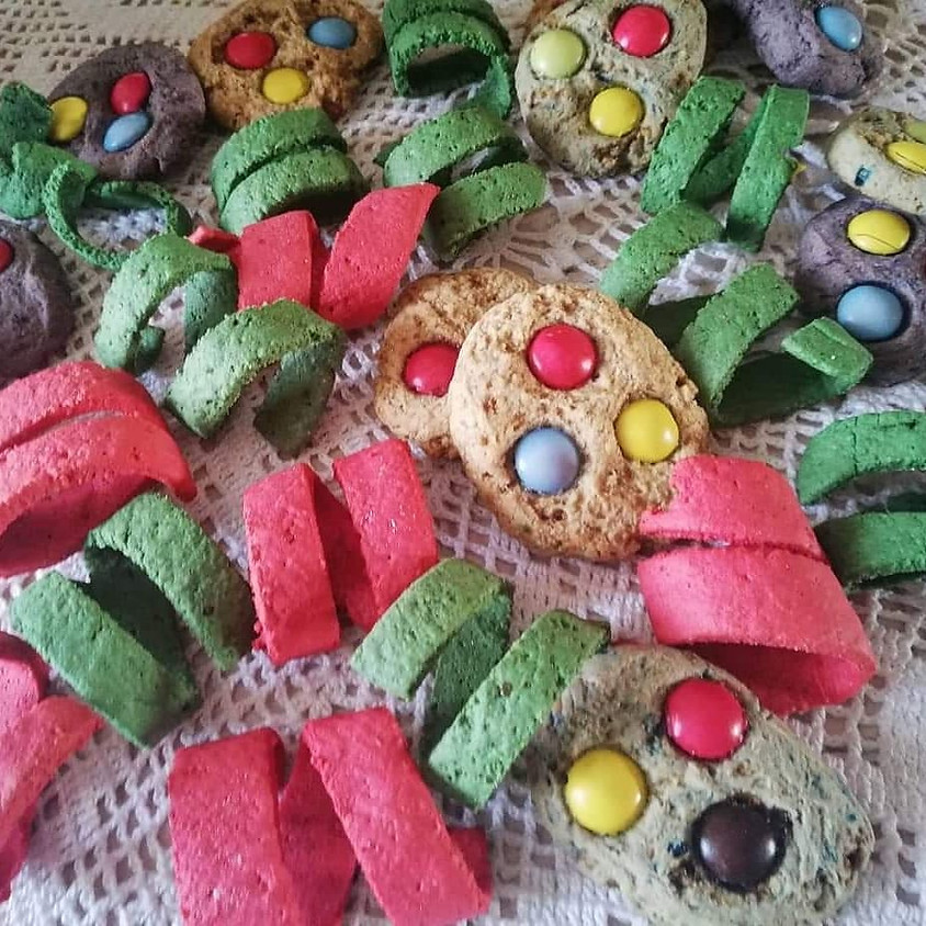 13/02 - Biscotti stelle filanti di carnevale