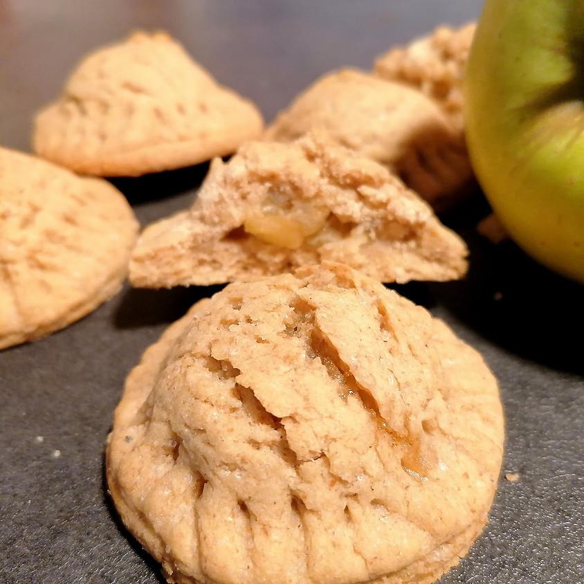 30/04 - Biscotti cuor di mela