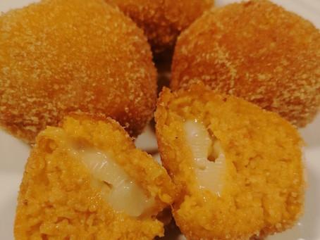 Polpette di zucca e formaggio squisite