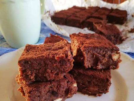 Brownies di batate senza zucchero