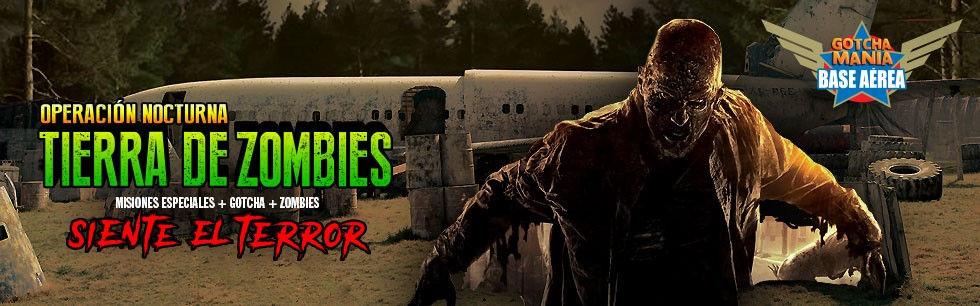 Tierra de zombies Gotchamania - Gotcha