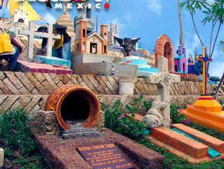 Ven a conocer un cementerio muy especial en Xcaret