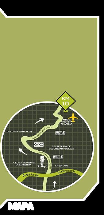 Mapa gotchamania ajusco