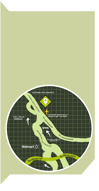Mapa Santa fe Gotchamania
