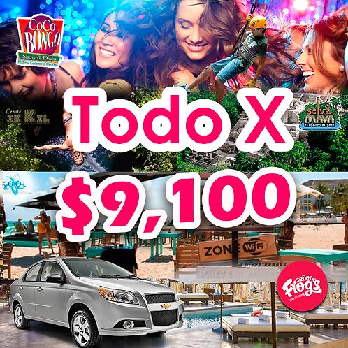 PrePago VIP Vacaciones con Auto incluido