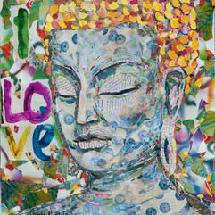 BROWN BAG BUDDHA #14  (sold)