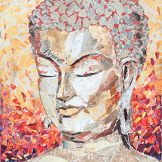 BROWN BAG BUDDHA #8  (sold)