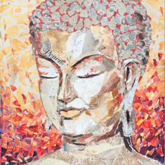 BROWN BAG BUDDHA #8  (sold)