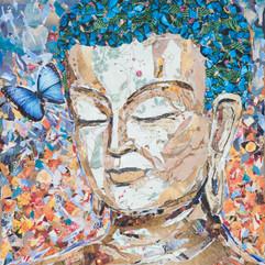BROWN BAG BUDDHA #10  (sold)