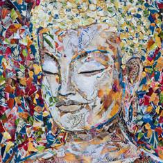 BROWN BAG BUDDHA #16  (sold)