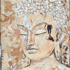 BROWN BAG BUDDHA #4  (sold)