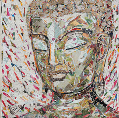 BROWN BAG BUDDHA #21  (sold)