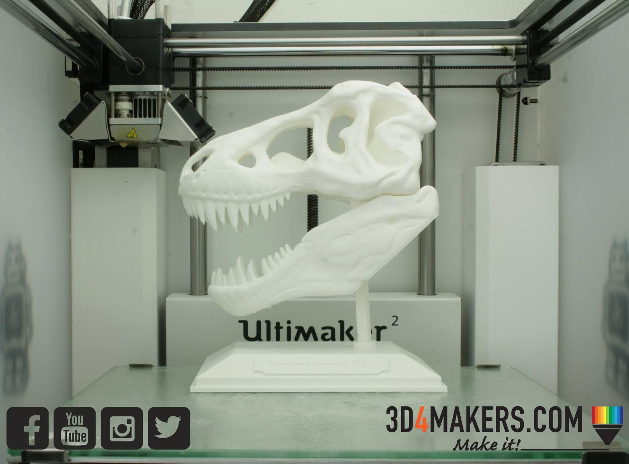 T-Rex PLA 3D Printing 3d4makers